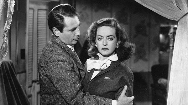 Джордж Сэндерс и Бетт Дэвис в фильме «Всё о Еве» (1950)