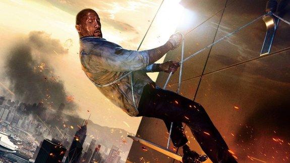Фрагмент постера фильма «Небоскреб»