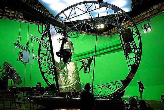 Съемки фильма «Трансформеры 5» / Фото: Paramount Pictures