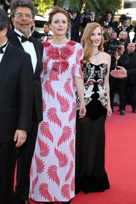 Габриэль Яред, Марен Аде и Джессика Честейн / Фото: Getty Images