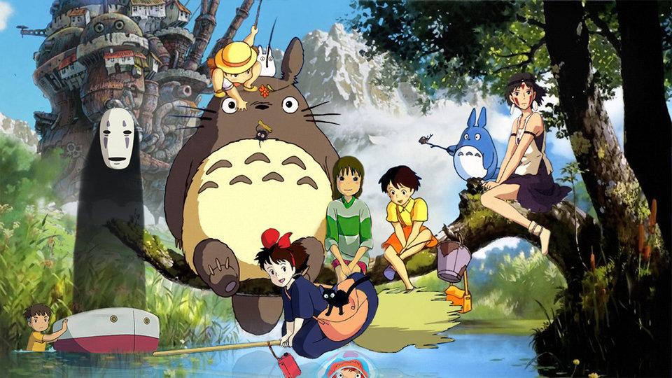 Персонажи японской студии Ghibli, основанной Хаяо Миядзаки