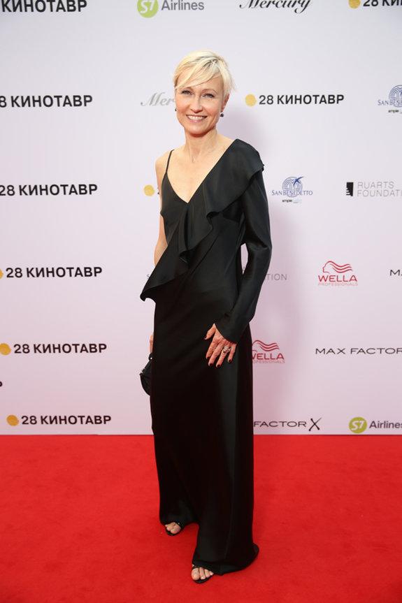 Актриса Ингеборга Дапкунайте / Пресс-служба фестиваля «Кинотавр»