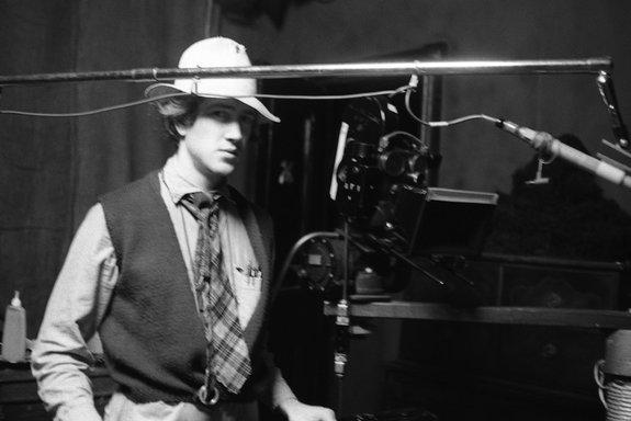 Дэвид Линч во время работы над фильмом «Голова-ластик»