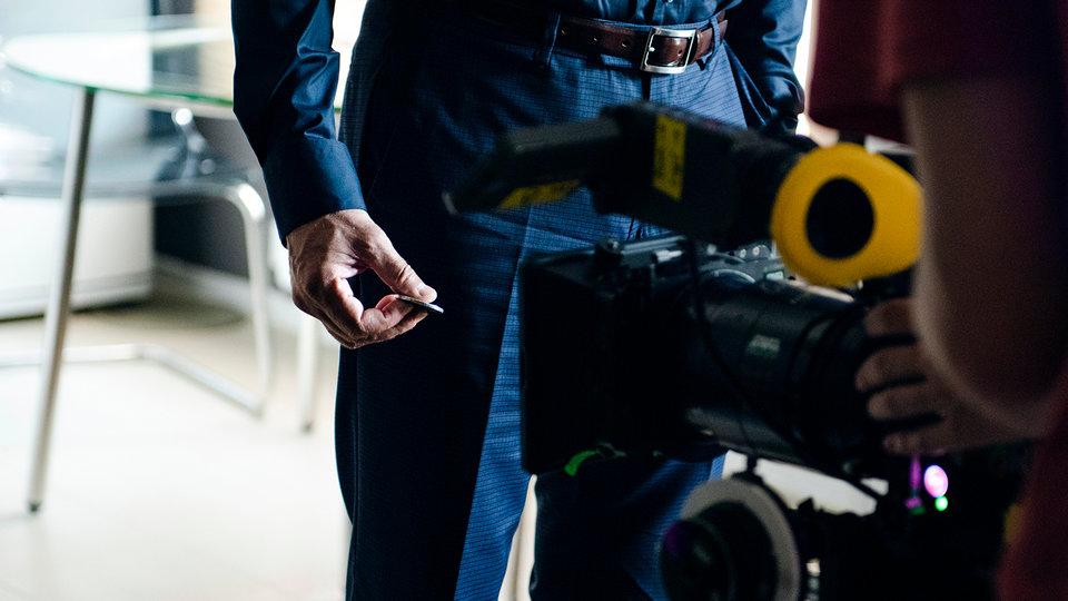 На съемках фильма «Миллиард» / Фото: Элен Нелидова для КиноПоиска