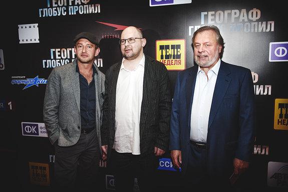 Константин Хабенский, Вадим Горяинов, Леонид Лебедев