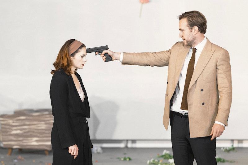 Рут Уилсон в постановке «Гедда Габлер»