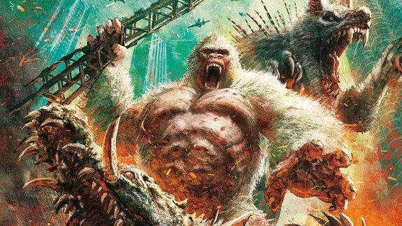 Американский бокс-офис: Горилла, волк и аллигатор пошумели немножко