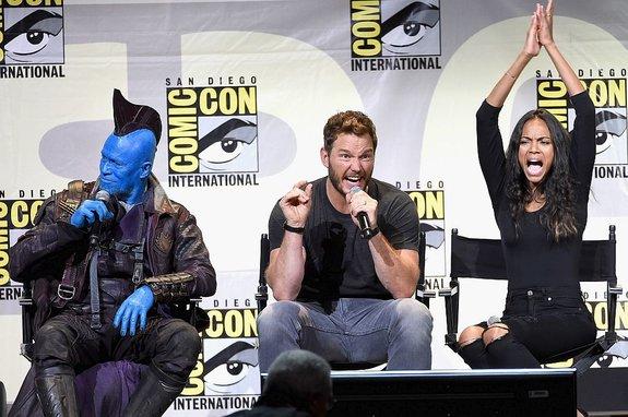 «Стражи Галактики 2»: Малыш Грут и Йонду завоевывают Comic-Con