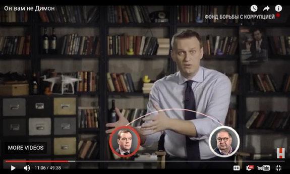 Алексей Навальный в фильме «Он вам не Димон»
