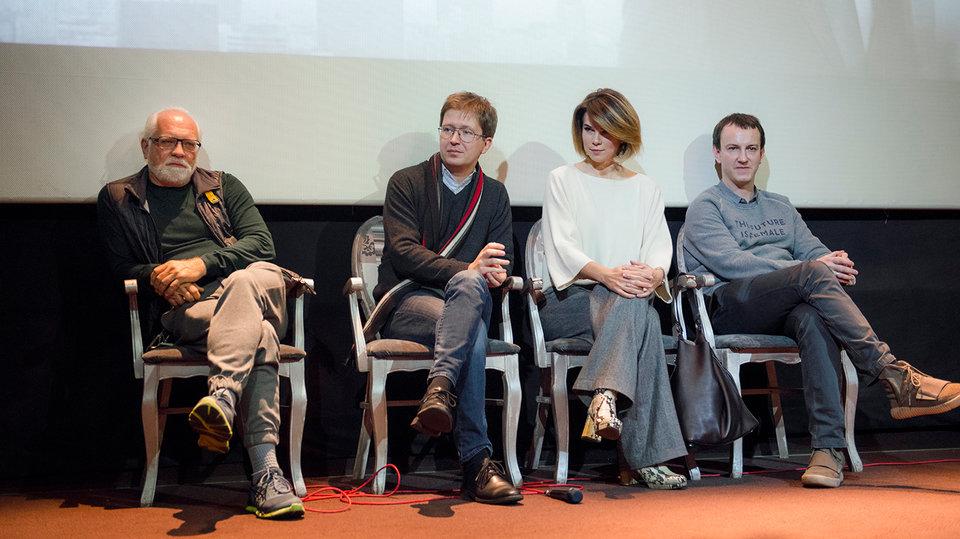 Андрей Себрант, Андрей Солдатов, Екатерина Романовская, Александр Горбачев