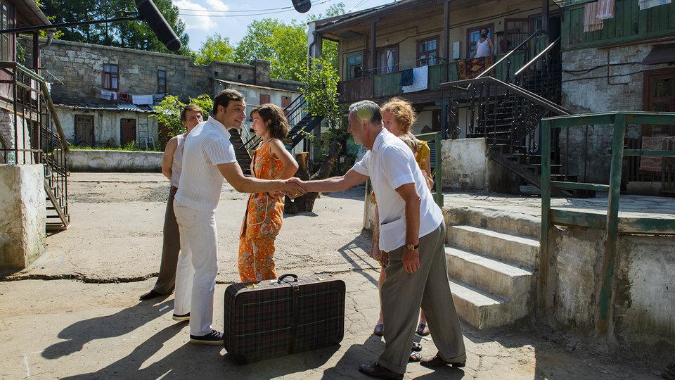 На съемках фильма «Одесса» / Фото: Элен Нелидова для КиноПоиска