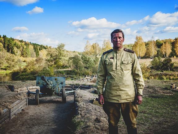 «Единичка»: В Калужской области вспомнили бои Второй мировой