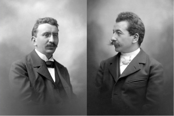Луи и Огюст Люмьеры