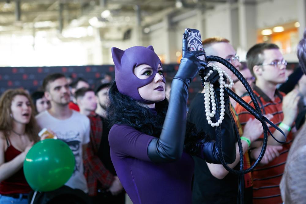 Женщина-кошка, Карнаж и Мистик: Косплей московского Comic Con
