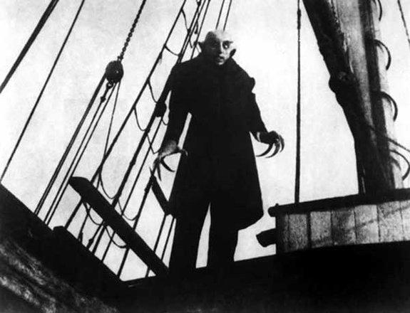 Макс Шрек в образе графа Орлака