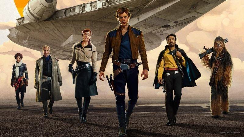 Фрагмент постера фильма «Хан Соло: Звездные войны. Истории»