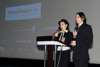 Организаторы церемонии и ее ведущие Ольга Белик и Петр Зайцев