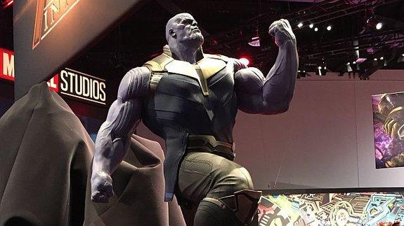 Молот Халка и кулак Таноса: В Анахайме открылся конвент компании Disney