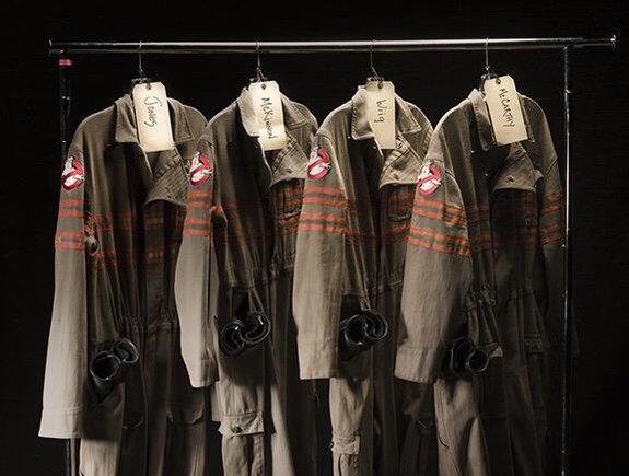 В этом году костюмы «Охотников за привидениями» впервые примерят женщины