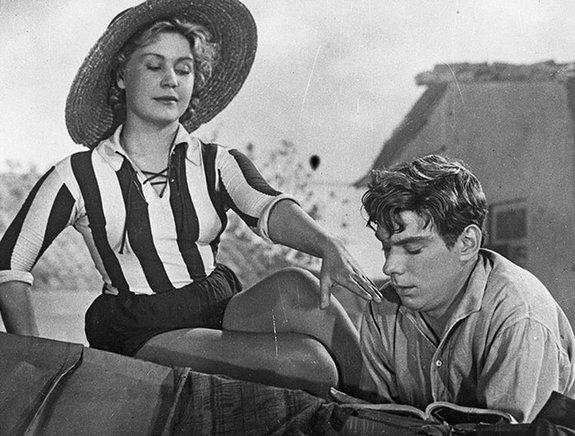 Кадр из фильма «Дорогой мой человек» (1958)