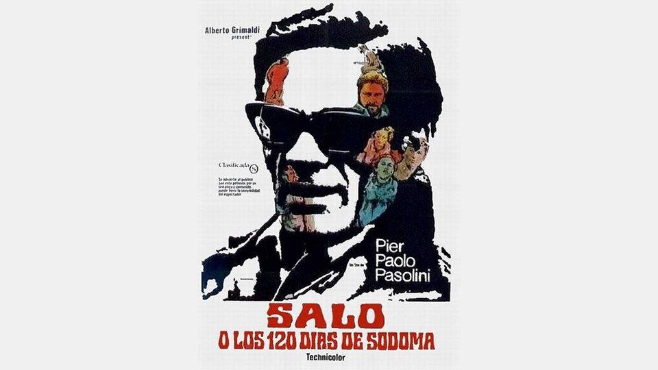 Постер фильма «Сало, или 120 дней Содома» Пазолини