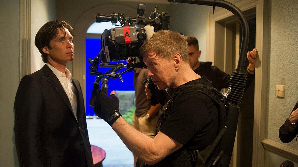 Алексей Родионов на съемках фильма «Вечеринка»