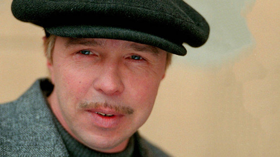 Гарик Сукачев на съемках фильма «Жмурки»