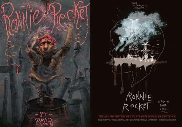 Фанатские постеры к «Ронни-ракете»