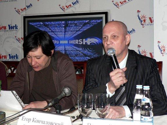 Егор Кончаловский, Василий Головачев