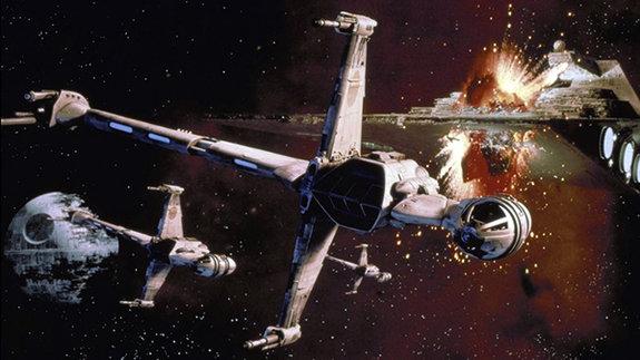 Кадр из фильма « Звездные войны: Возвращение джедая»