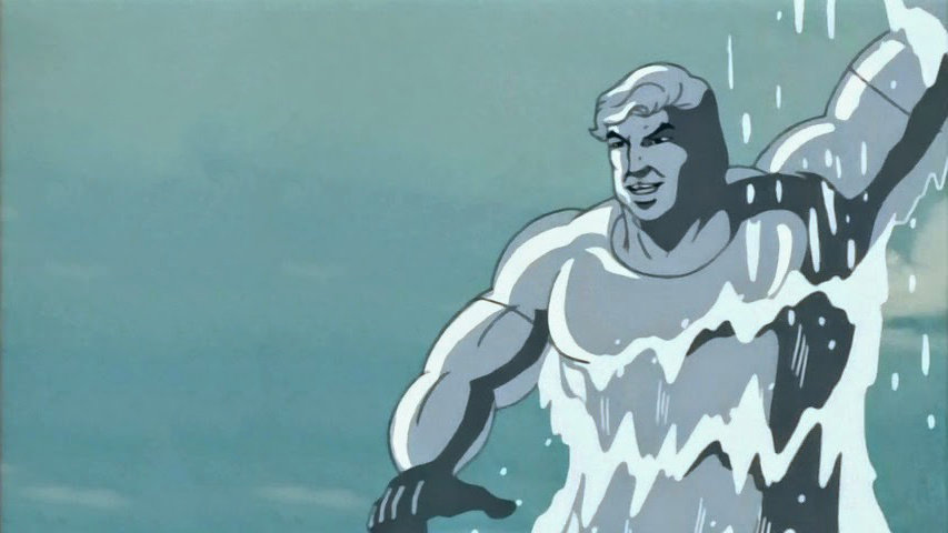 Гидромен из анимационного сериала «Человек-паук»