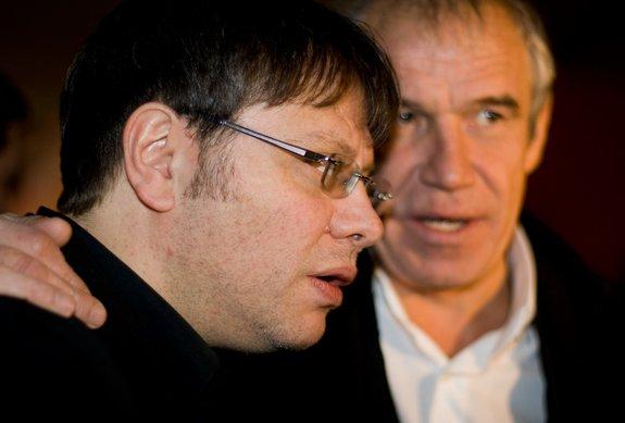 Сергей Гармаш и Валерий Тодоровский