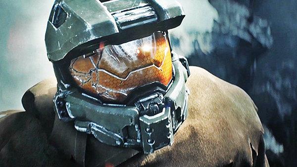 Кадр из видеоигры Halo