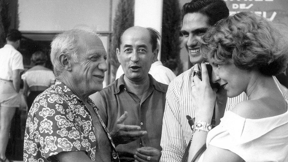 Пабло Пикассо на Каннском фестивале в 1949 году / Фото: Getty Images
