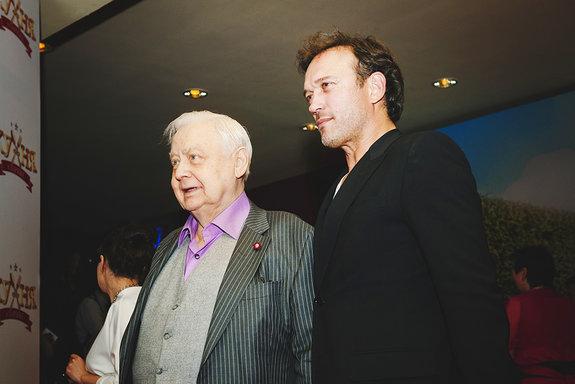 Олег Табаков, Венсан Перес