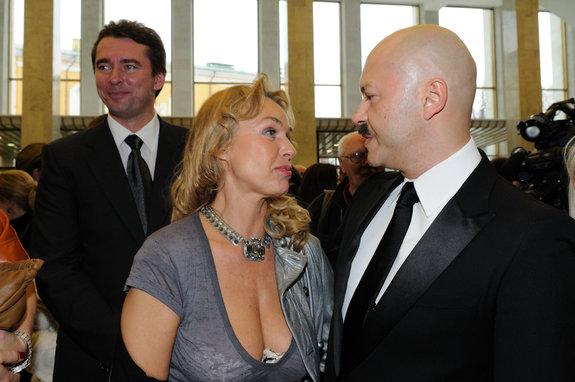 Наталья Андрейченко и Фёдор Бондарчук