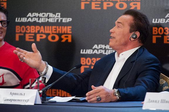 Джонни Ноксвил и Арнольд Шварценеггер