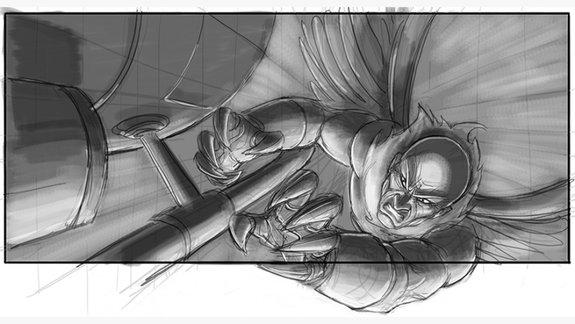 Концепт-арт к четвертой части «Человека-паука»