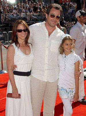 Джон Тенни с дочкой