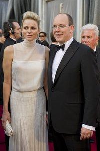 Чарлин и Альберт Второй, принцесса и принц Монако