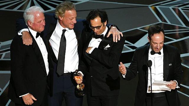Команда фильма «Икар» / Фото: Getty Images