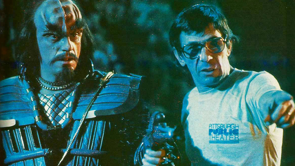Фото со съемочной площадки фильма «Звездный путь 3»