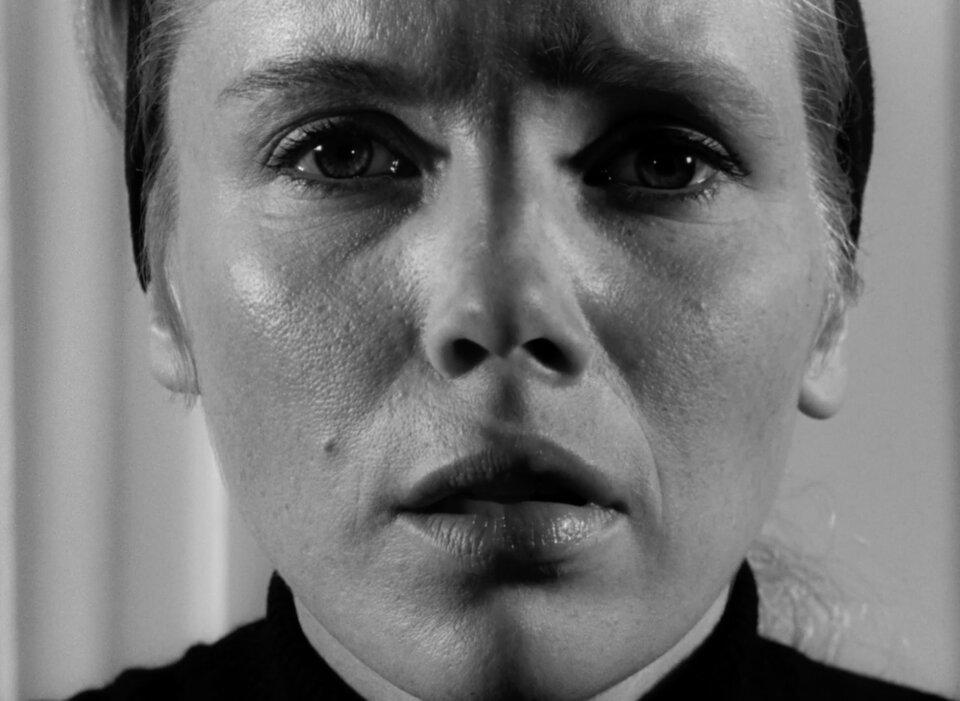 Чем пугает самый известный кадр из «Персоны» Бергмана? — Статьи на  КиноПоиске
