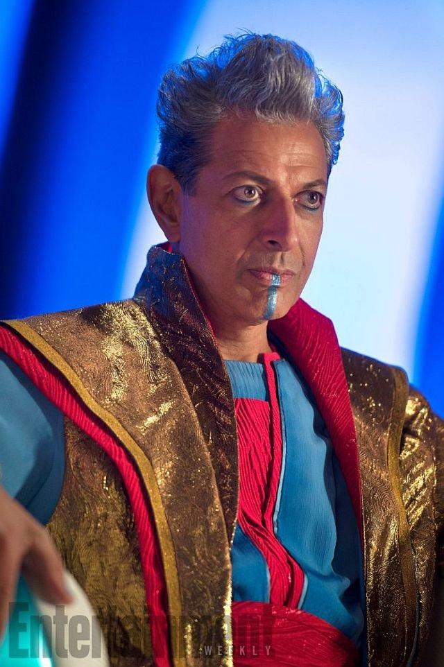 Джефф Голдблюм в образе Гроссмейстера / Фото: Entertainment Weekly