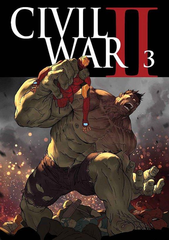 Обложка третьего выпуска «Гражданской войныII»