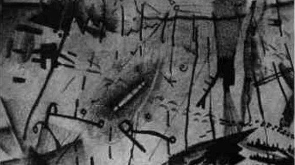 Эскизы Дэвида Линча к сценарию «Ронни-ракета».