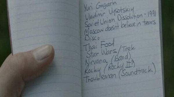 Записная книжка Капитана Америка из фильма «Первый мститель: Другая война»