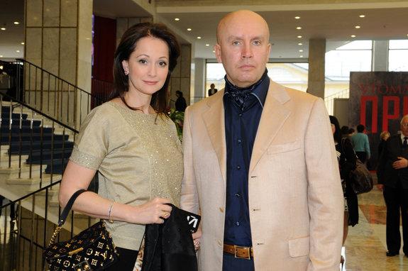 Ольга Кабо с супругом