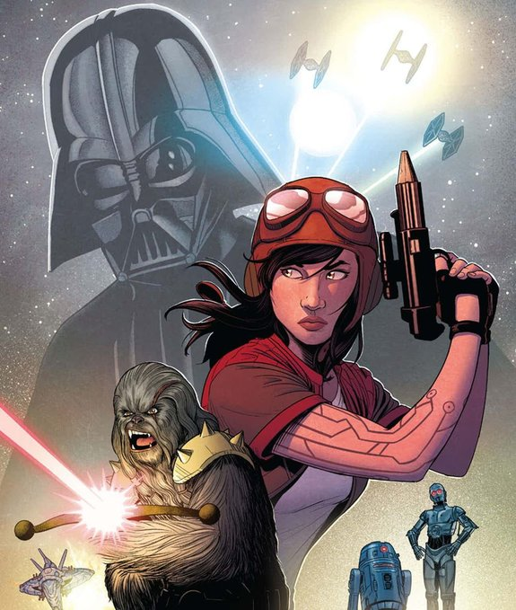 Фрагмент обложки комикса «Star Wars — Doctor Aphra» / Издательство Marvel