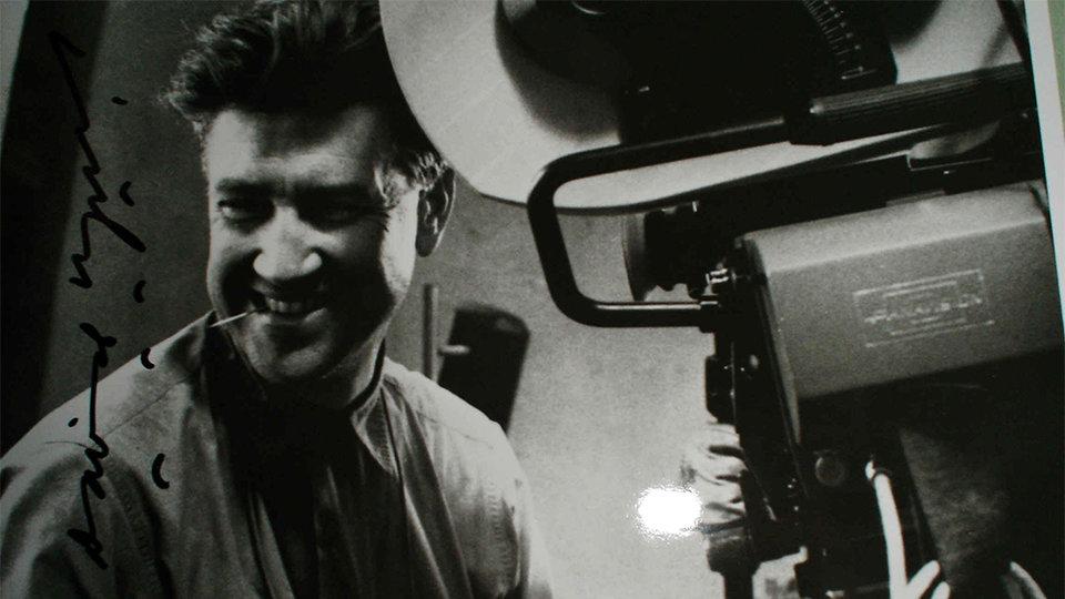 Дэвид Линч на съемках фильма  «Человек-слон»